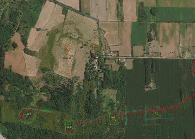 Levantamiento Topográfico e Ingeniería de Factibilidad Caminos Proyecto Eólico Rihue. Trinergy