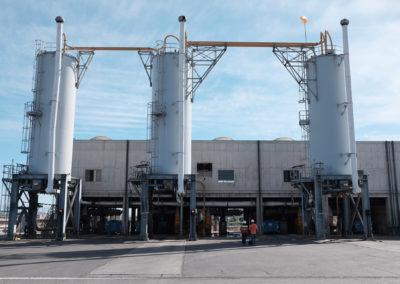 Montaje sistema de bombeo silos Biofactoria La Farfana