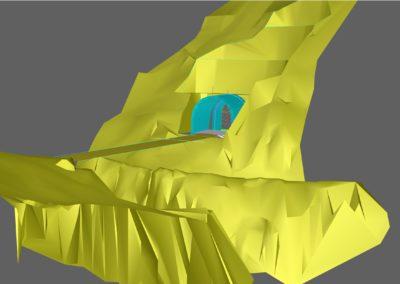 Diseño Túnel Ventana Las Puertas. Proyecto Hidroeléctrico Alto Maipo. Mabenko.