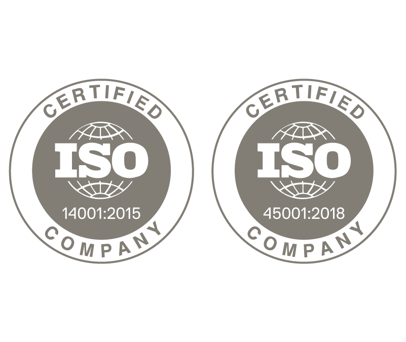 Certificación ISO 14001:2015 ISO 450001:2018.
